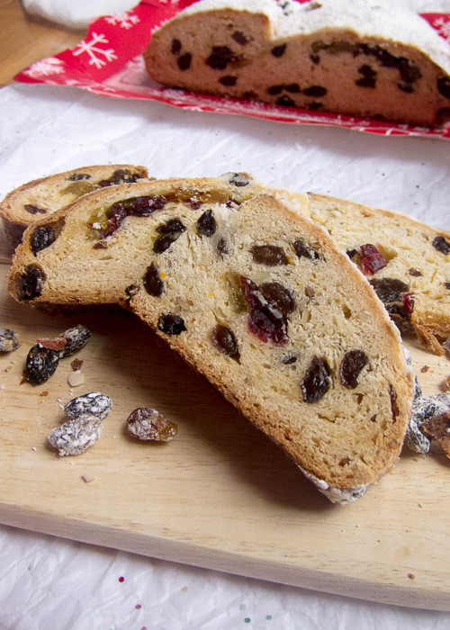 German Christmas Bread Stollen Recipe  German Christmas Bread Easy Stollen Stollen Bites