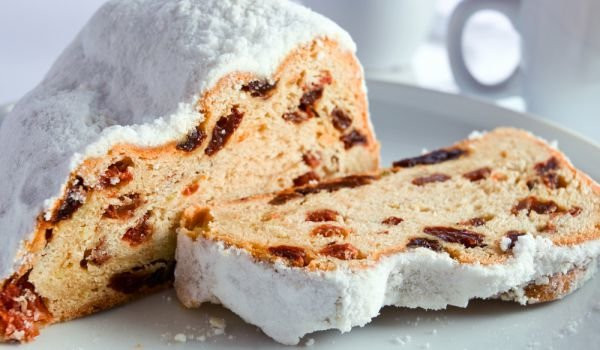 German Christmas Bread Stollen Recipe  Stollen German Christmas Bread Recipe