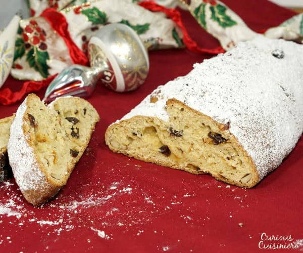 German Christmas Bread Stollen Recipe  Stollen German Christmas Bread • Curious Cuisiniere