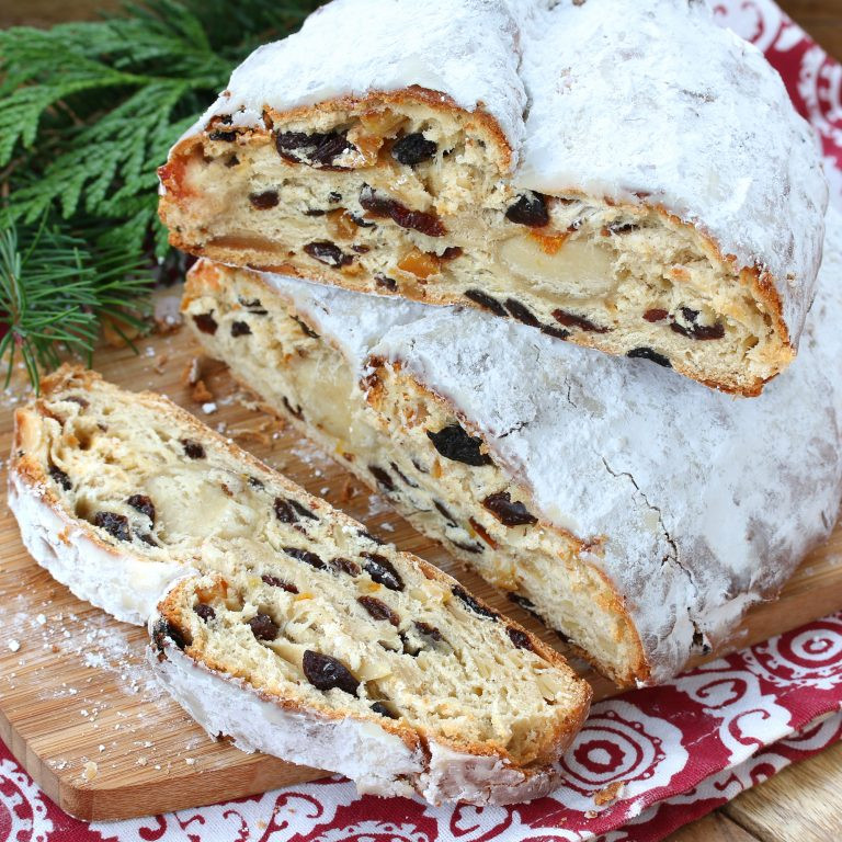 German Christmas Bread Stollen Recipe  BEST German Christmas Stollen Christstollen The Daring