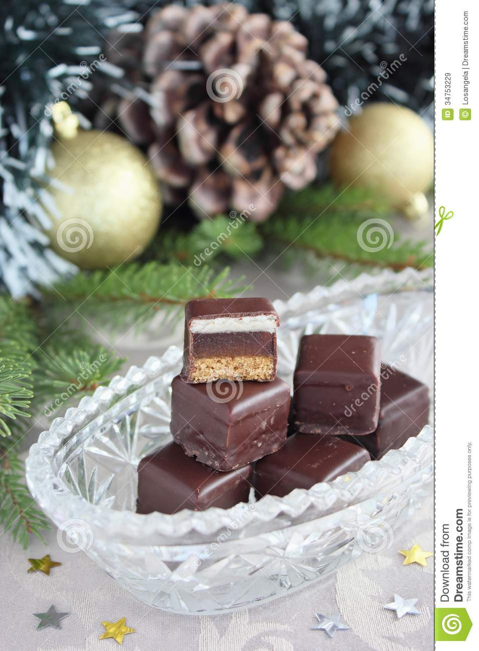 German Christmas Candy  Christmas Candy Royalty Free Stock Image