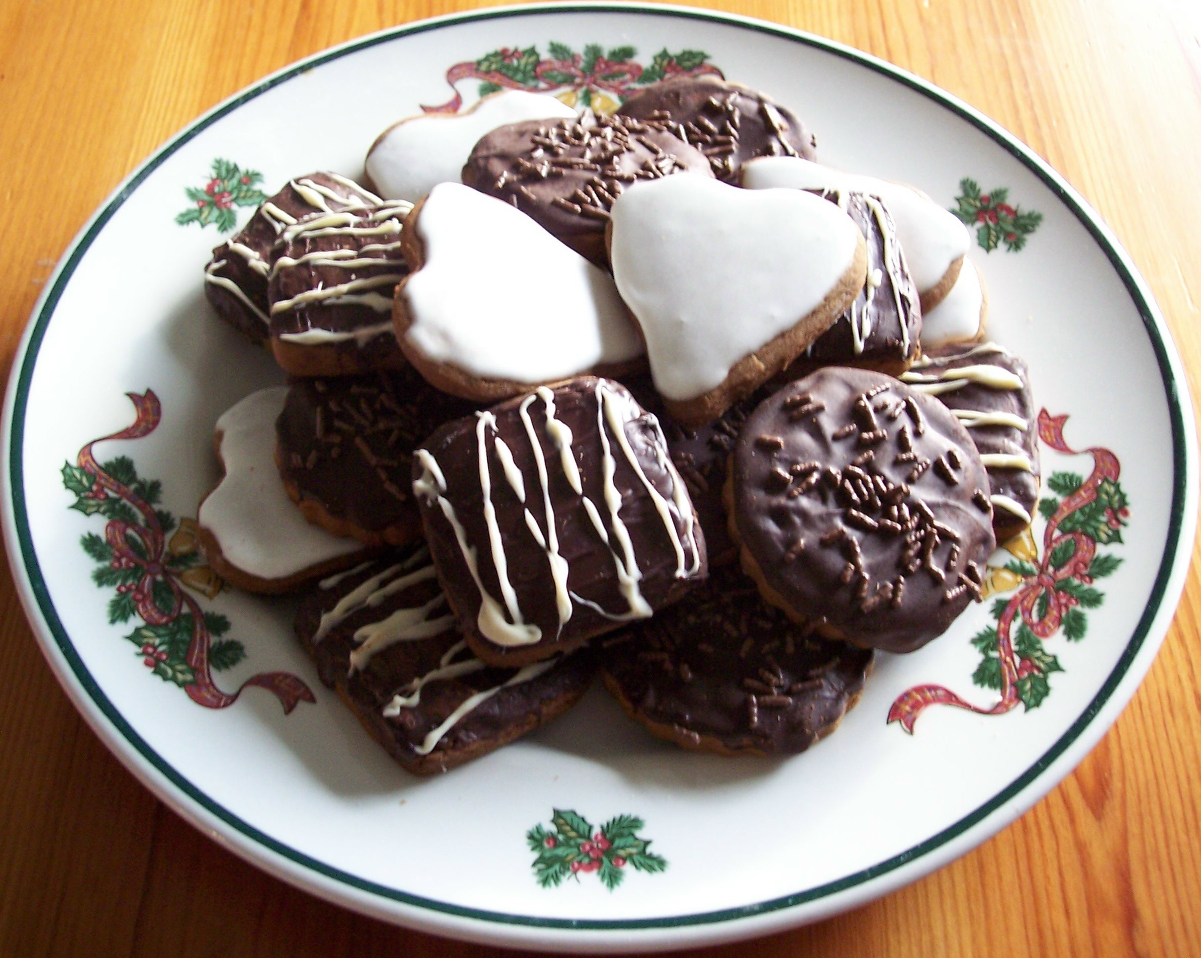 German Christmas Cookies Lebkuchen  Lebkuchen