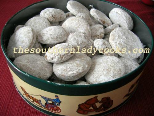 German Christmas Cookies Pfeffernusse  HOLIDAY PFEFFERNUSSE COOKIES The Southern Lady Cooks