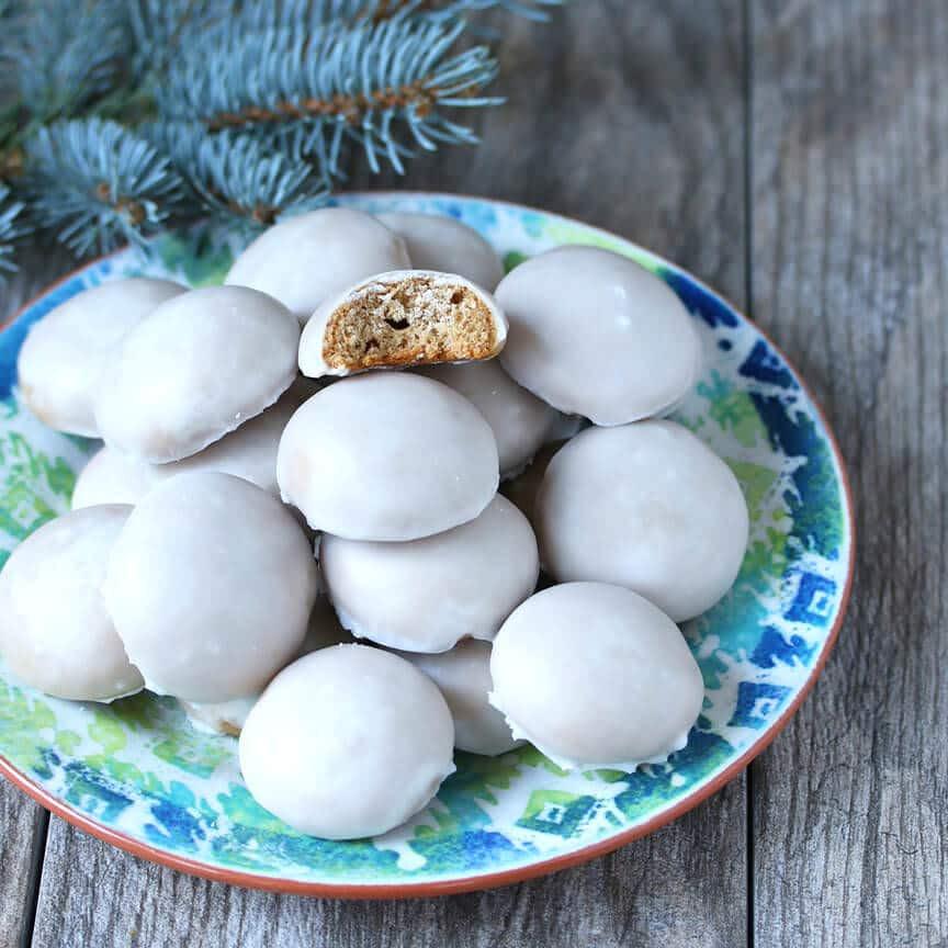 German Christmas Cookies Pfeffernusse  BEST Authentic Pfeffernüsse German Iced Gingerbread