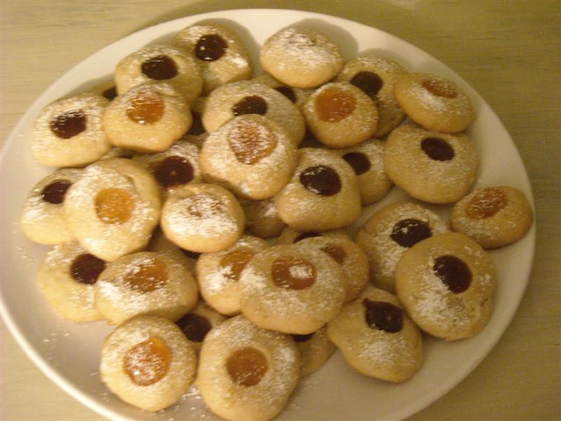 German Christmas Cookies Recipes  German Christmas Cookies Angel s Eyes • German Recipes