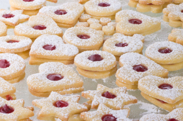 German Christmas Cookies Recipes  Spitzbuben Swiss Jam Cookies Recipe Food