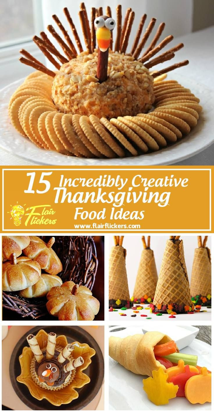 Giant Thanksgiving Dinner 2019  Thanksgiving Food List 15 Creative Food Ideas for A