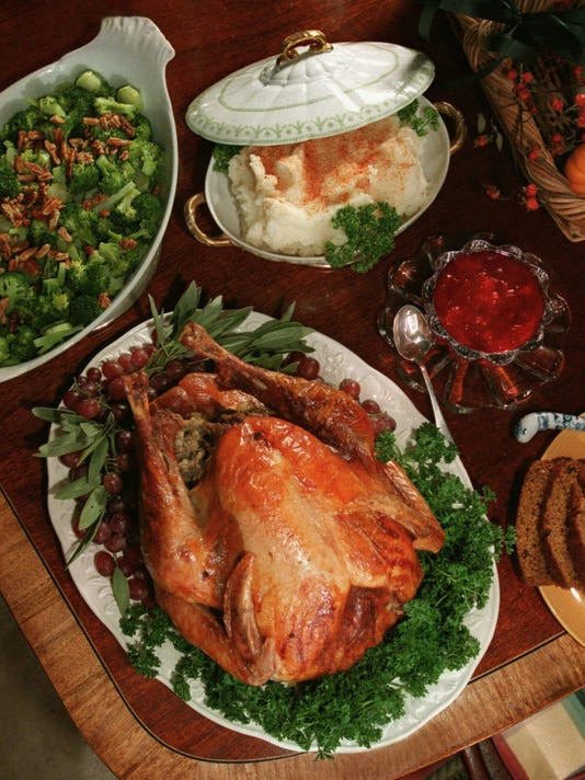 Giant Thanksgiving Turkey Dinner  Advertiser's giant Thanksgiving edition will be available