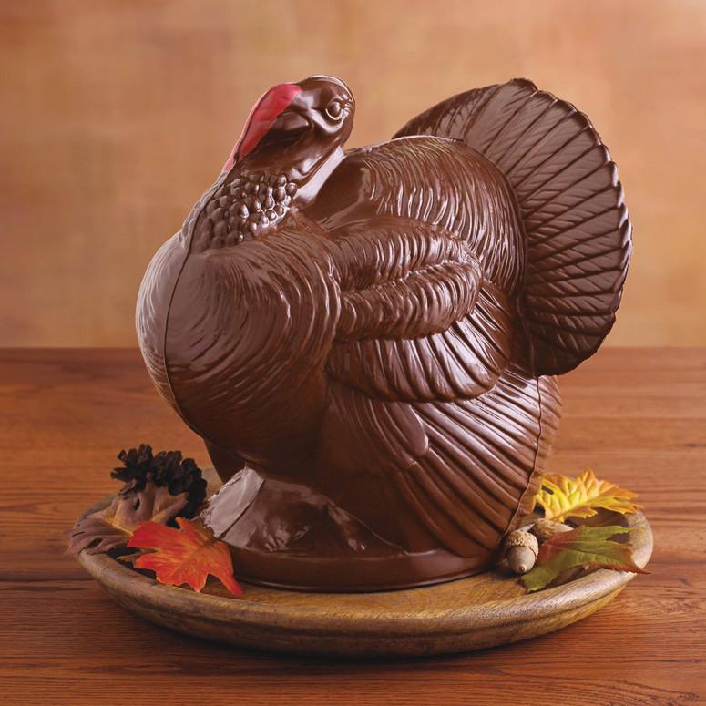 Giant Thanksgiving Turkey Dinner  Giant Chocolate Turkey Thanksgiving Centerpiece The