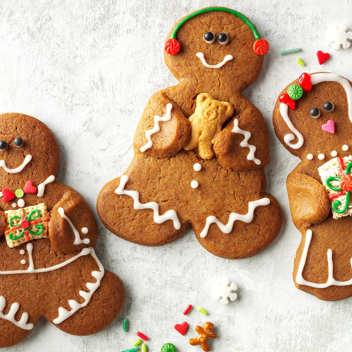 Gingerbread Christmas Cookies  Gingerbread Bud s Recipe