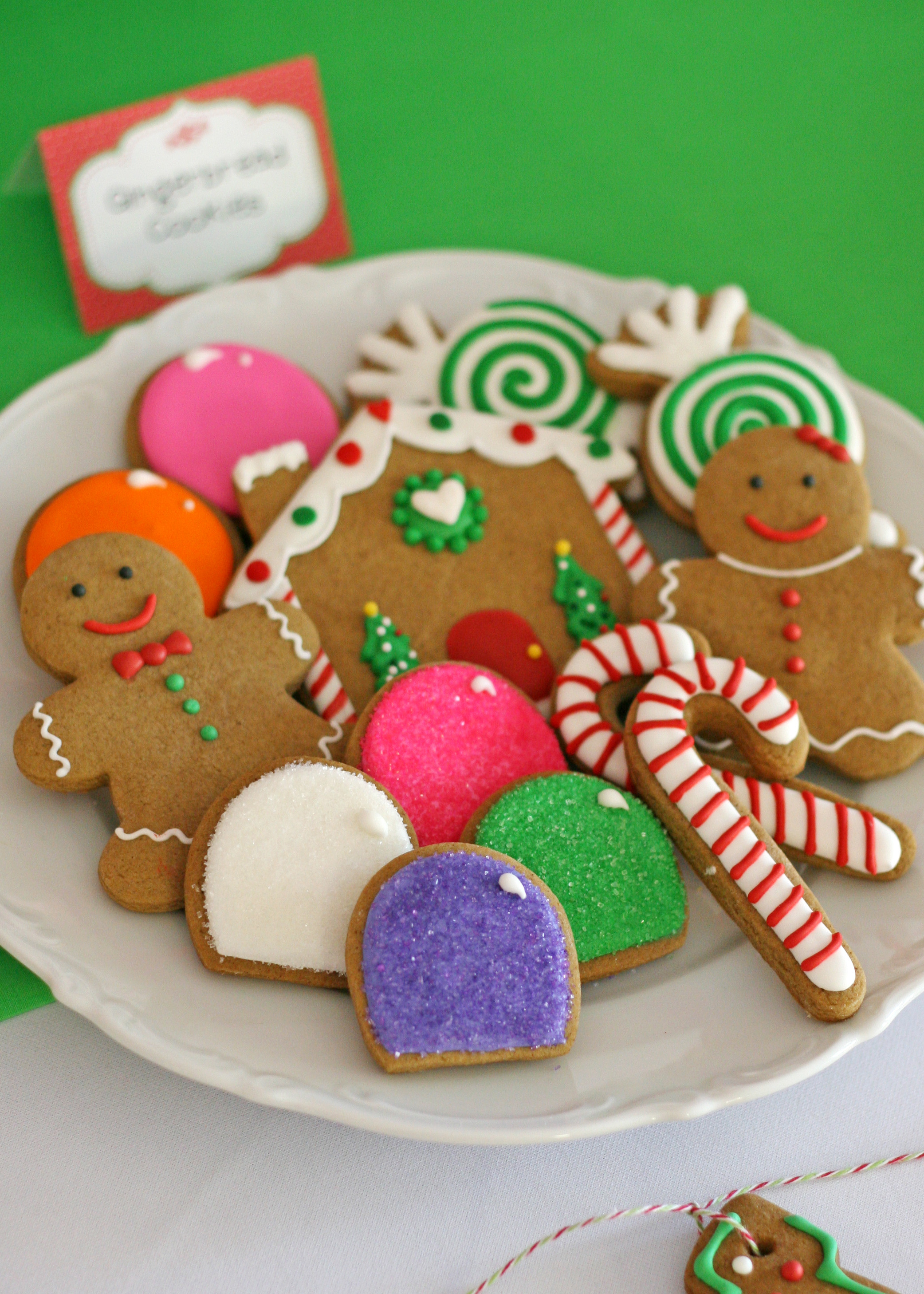 Gingerbread Christmas Cookies  Christmas Cookie Exchange Party For Kids Creative Juice