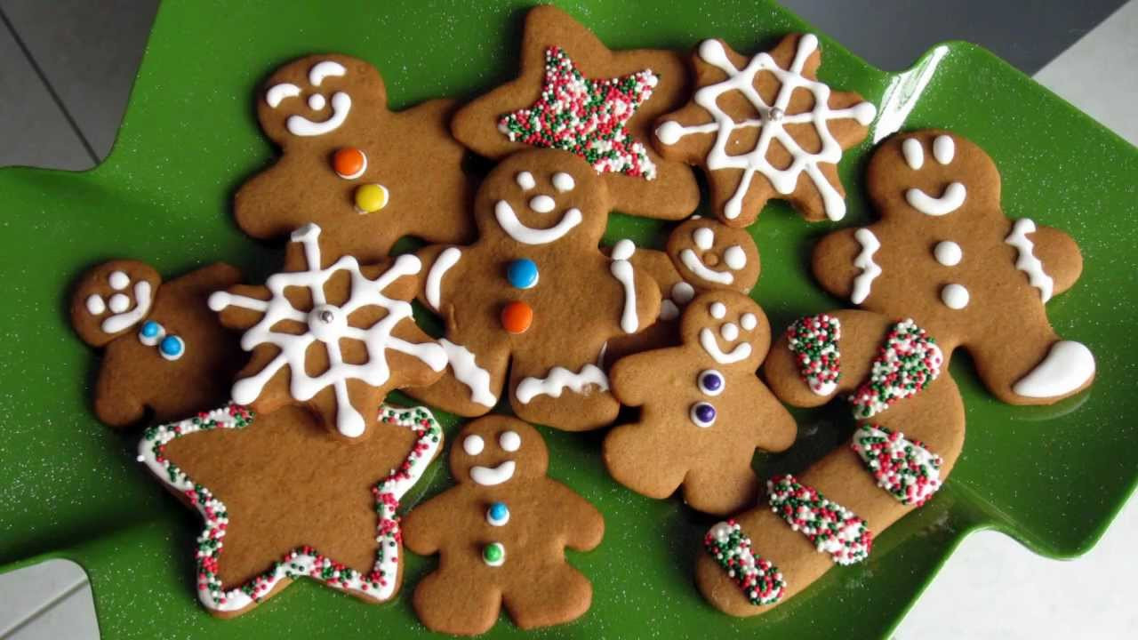 Gingerbread Christmas Cookies  Christmas Treats Gingerbread Cookie Recipe