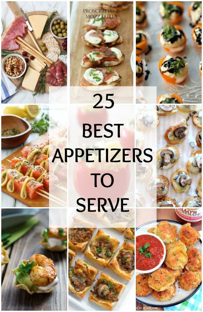 Good Christmas Appetizers  25 BEST Appetizers to Serve for Holiday Party Entertaining