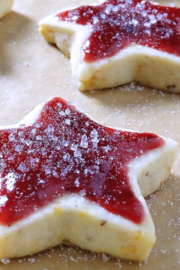 Good Christmas Cookies  Sugar Plum Shortbread Christmas Cookies Wicked Good Kitchen