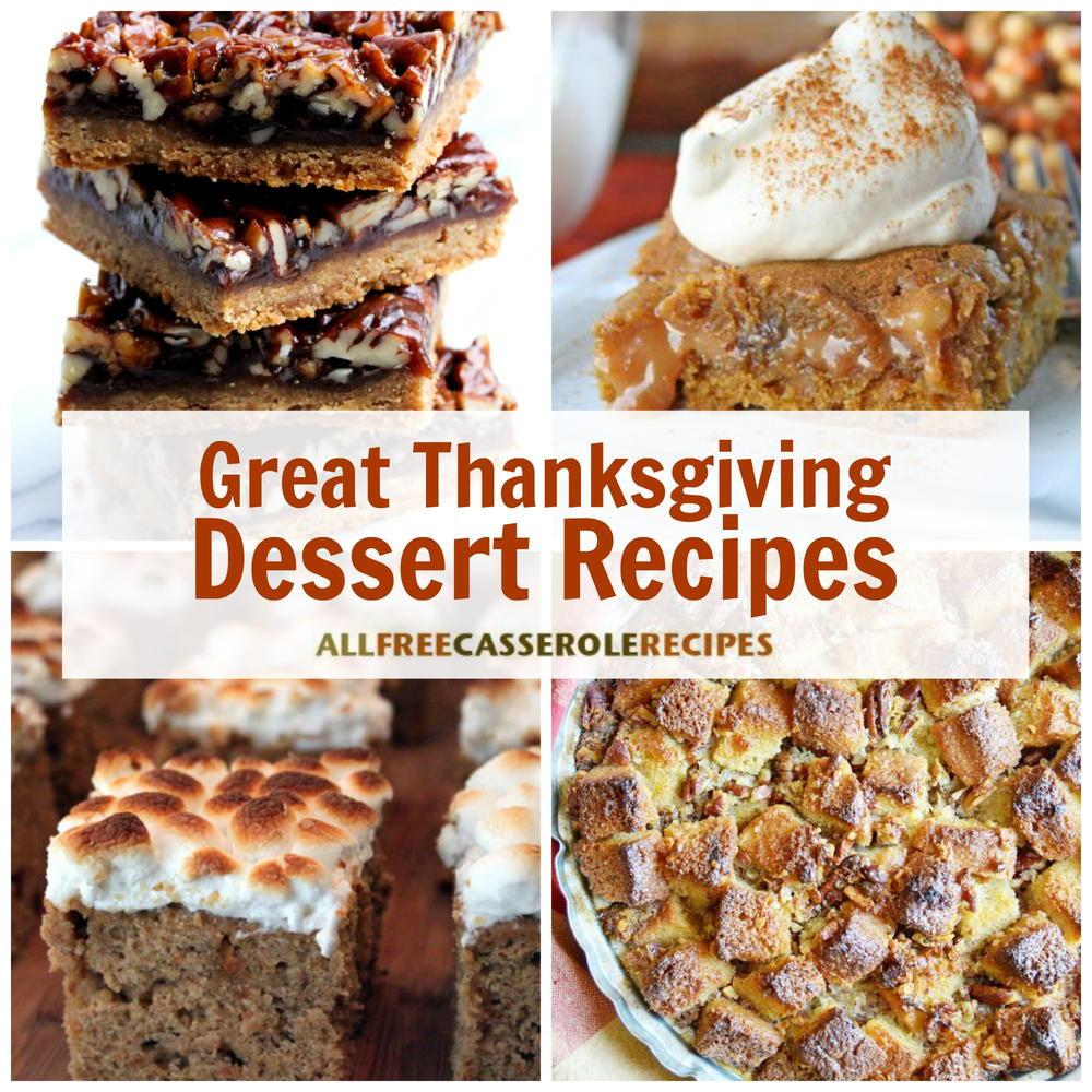 Good Thanksgiving Dessert  18 Great Thanksgiving Dessert Recipes