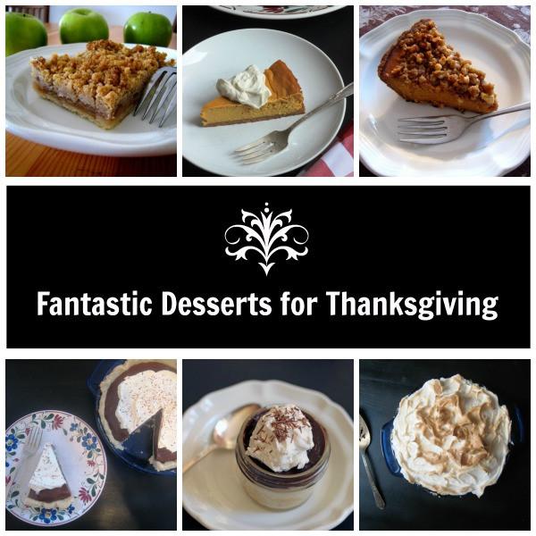 Good Thanksgiving Dessert  8 Fantastic Desserts for Thanksgiving