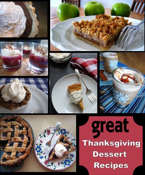 Good Thanksgiving Dessert  Great Thanksgiving Dessert Recipes Good Cheap Eats