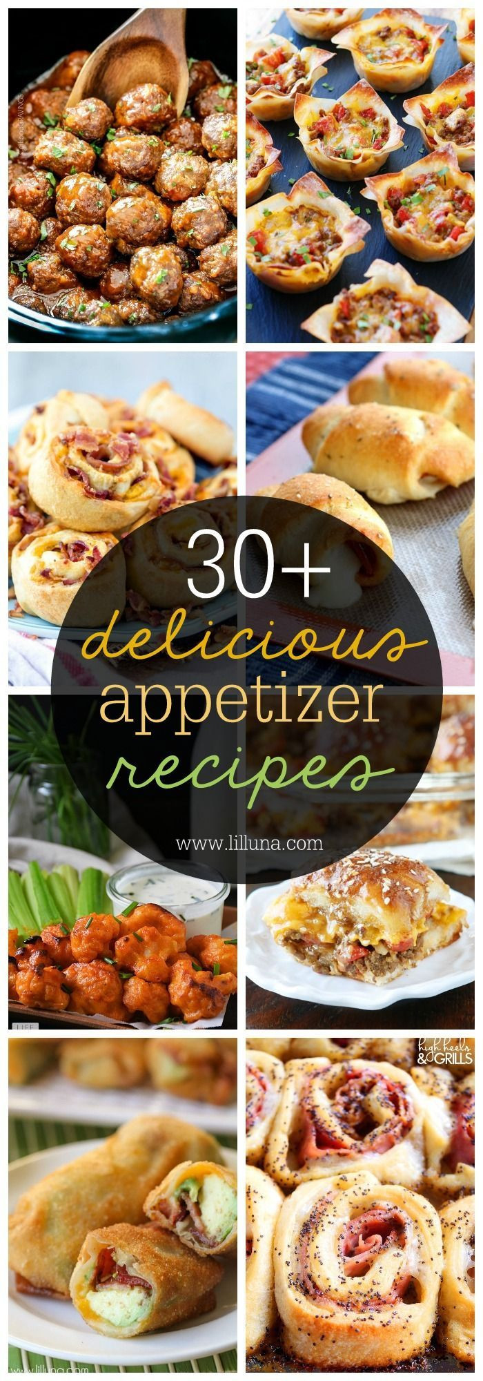 Great Appetizers For Christmas Party  30 Appetizer Recipes a great collection for parties