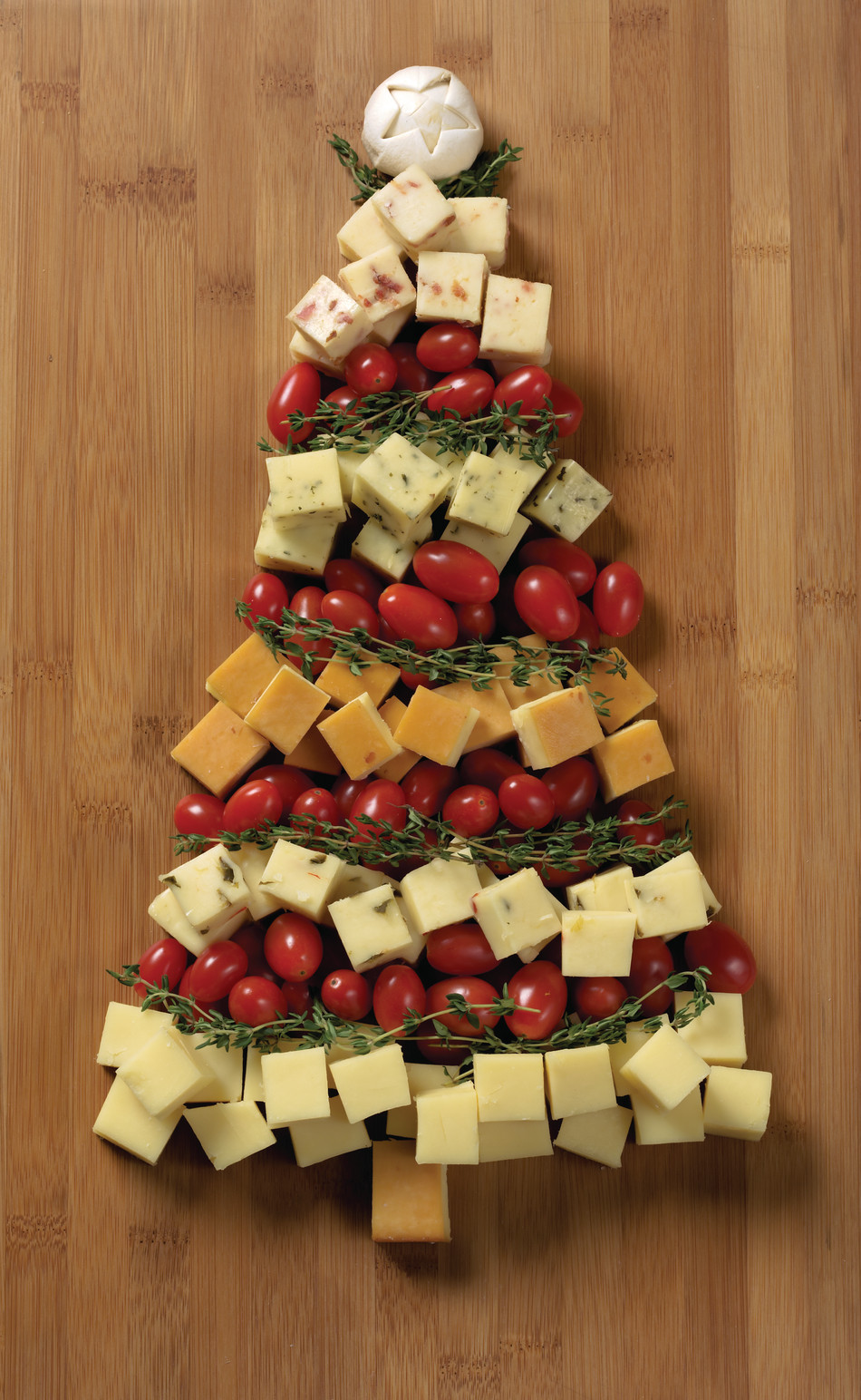 Great Christmas Appetizers  Christmas Appetizer Recipes Tree Cheese Board Idea