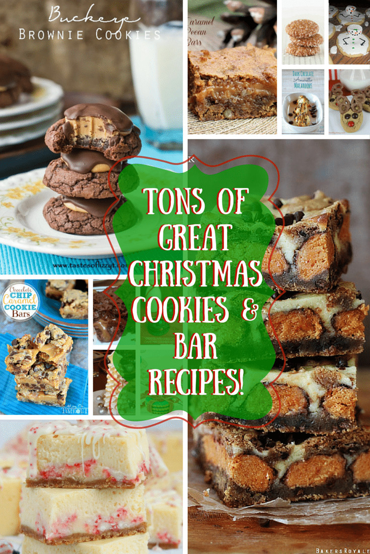 Great Christmas Cookies  45 Great Christmas Cookies and Bar Recipes You ll Love