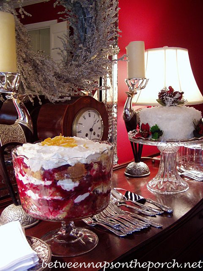 Great Christmas Desserts  Cranberry Trifle Recipe for a Christmas or Holiday Party