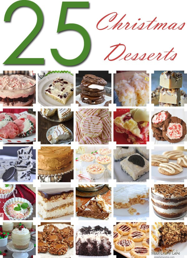 Great Christmas Desserts  25 Awesome Christmas Desserts & Your Great Idea Link