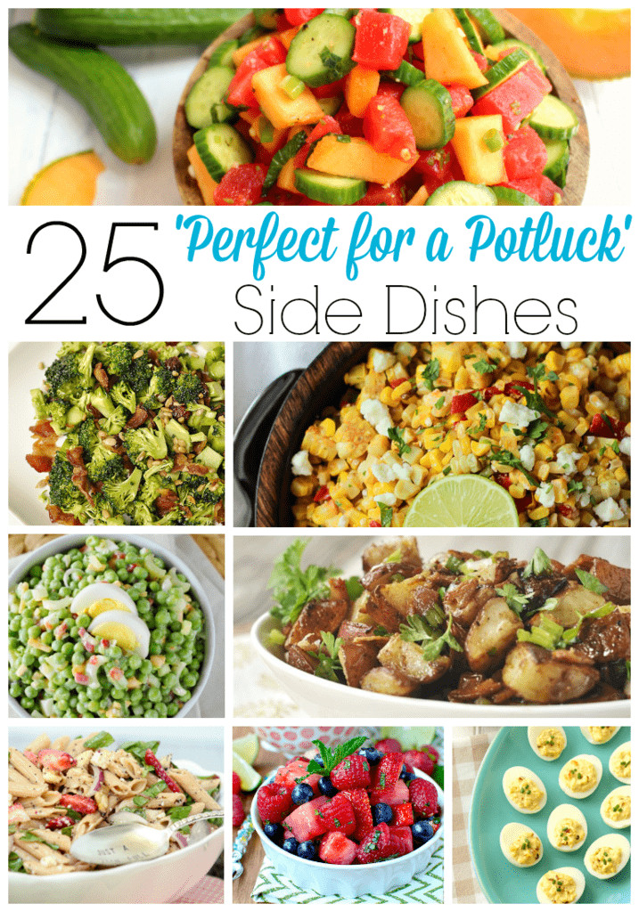 Great Christmas Side Dishes  25 Perfect for a Potluck Side Dishes Your Homebased Mom