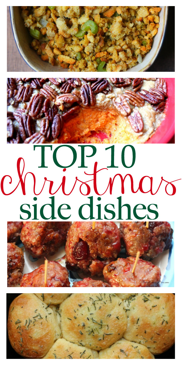 Great Christmas Side Dishes  Top 10 Christmas Side Dishes