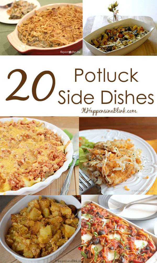 Great Christmas Side Dishes  17 Best ideas about Christmas Potluck on Pinterest
