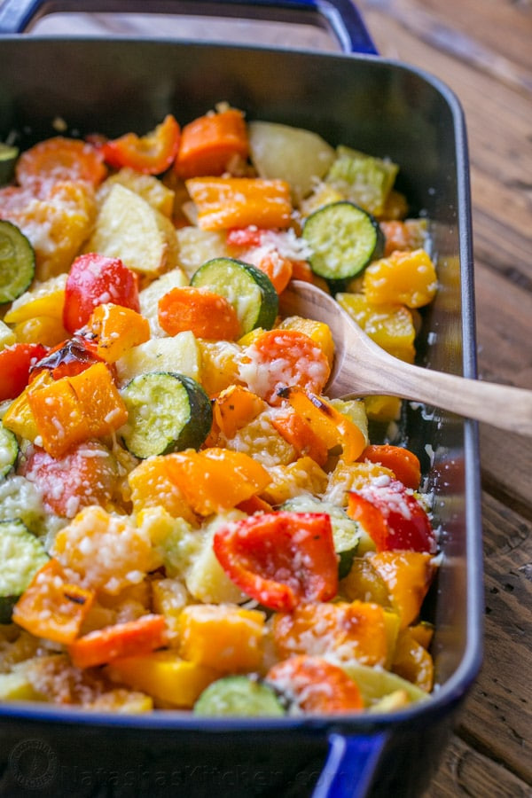 Great Christmas Side Dishes  Roasted Ve ables Recipe Great Holiday Side Dish