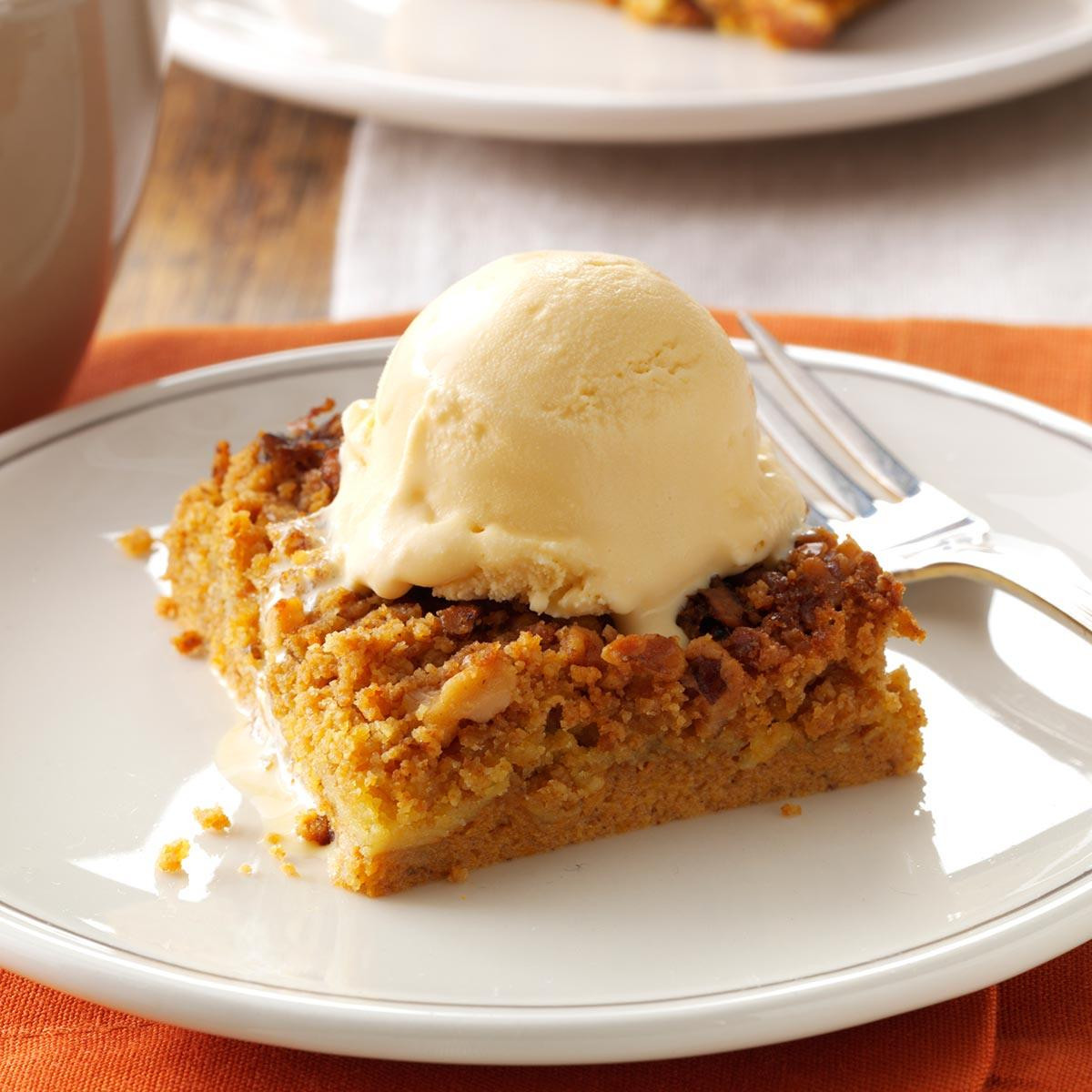 Great Fall Desserts  Great Pumpkin Dessert Recipe