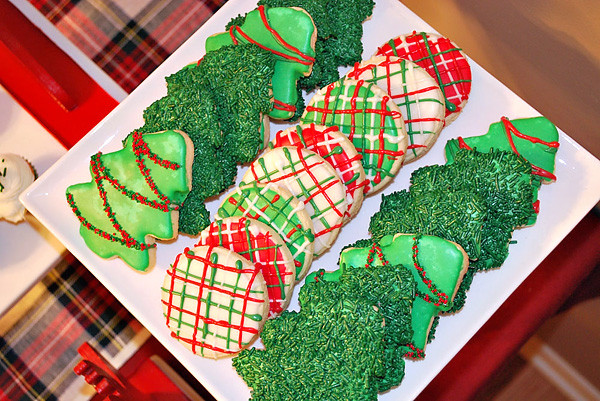 Green Christmas Cookies  Red And Green Christmas Cookies s and