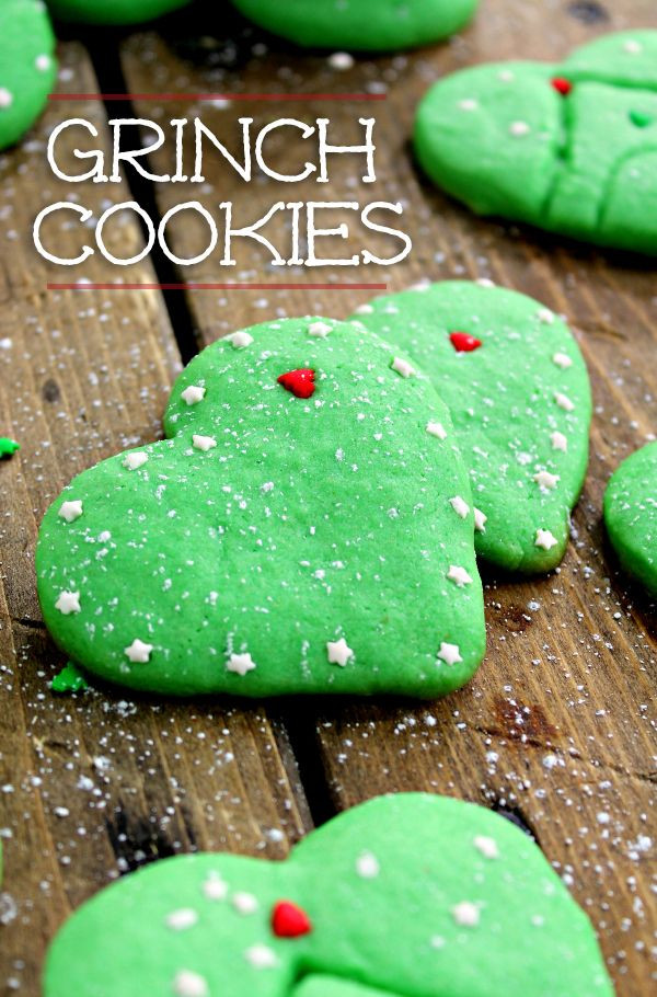 Grinch Christmas Cookies  17 Best ideas about Grinch Cookies on Pinterest