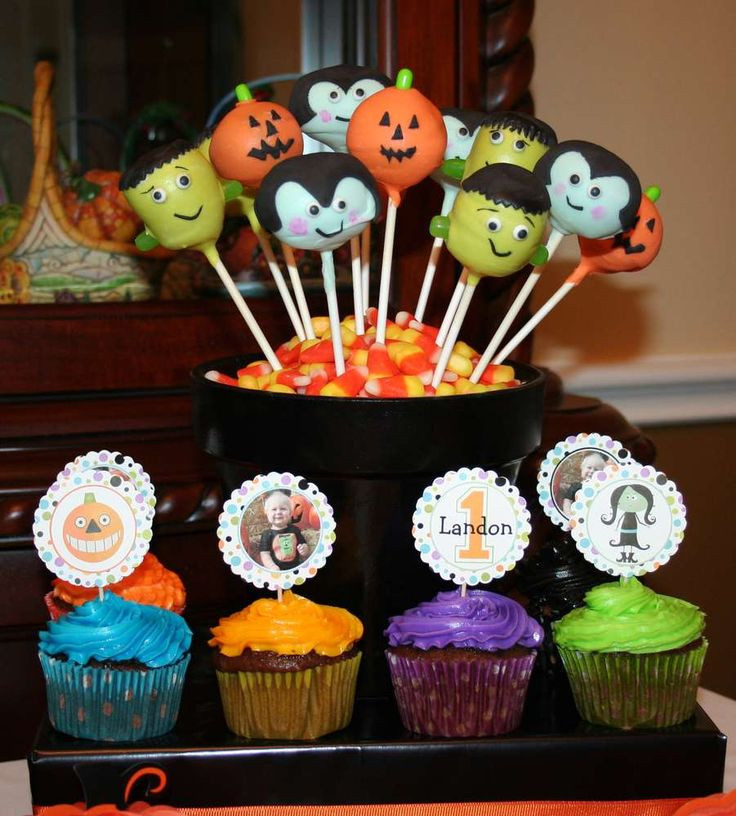Halloween 1St Birthday Cake  Best 25 Halloween first birthday ideas on Pinterest