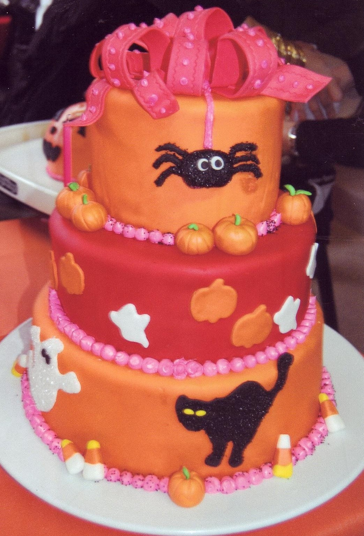 Halloween 1St Birthday Cake  Halloween 1st Birthday Cake