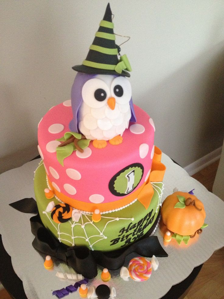 Halloween 1St Birthday Cake  Halloween 1st birthdays 1st birthday cakes and 1st