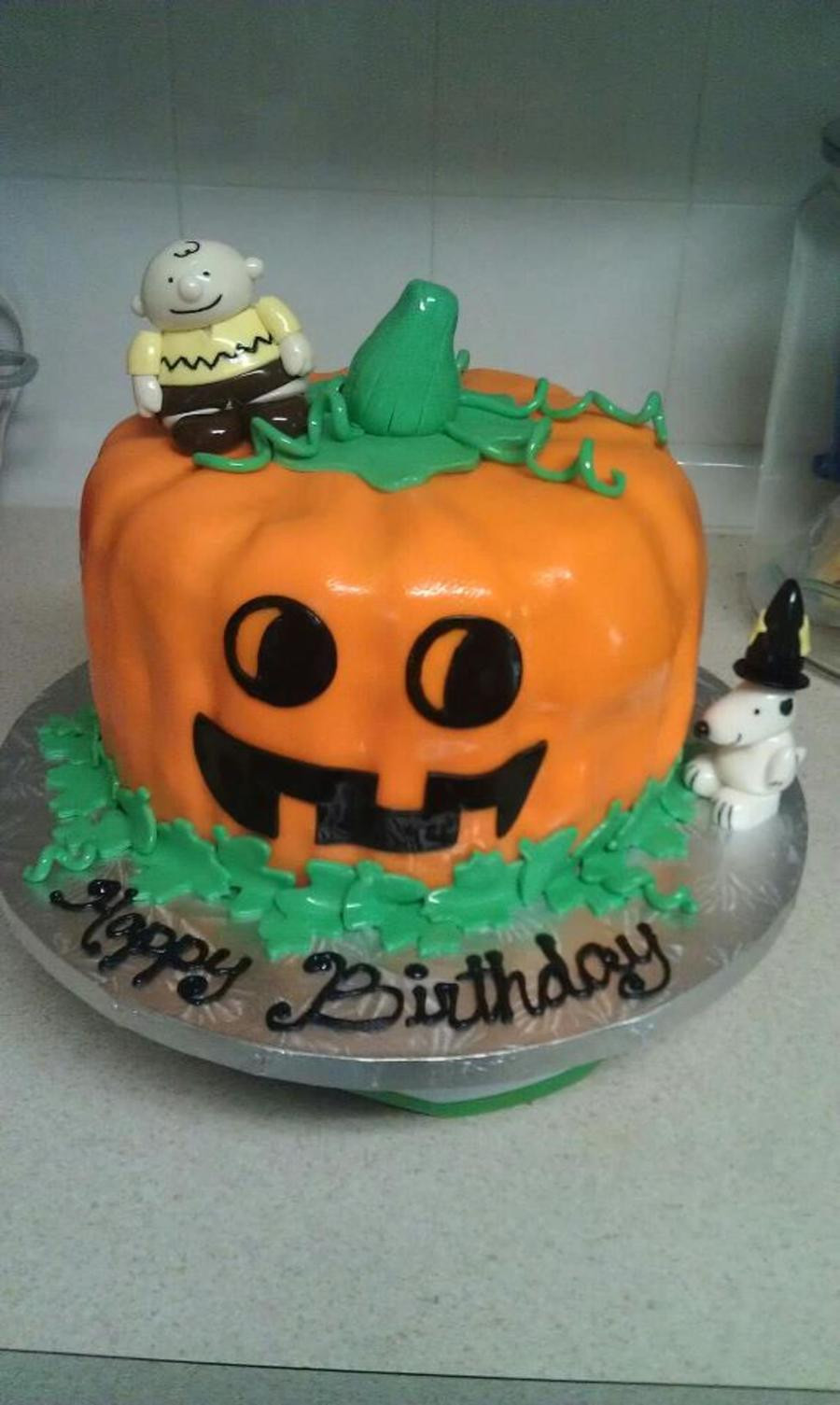 Halloween 1St Birthday Cake  Halloween Themed Birthday Cake CakeCentral
