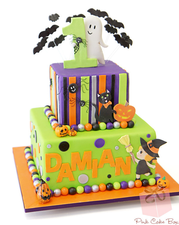 Halloween 1St Birthday Cake  Birthday Party Themes