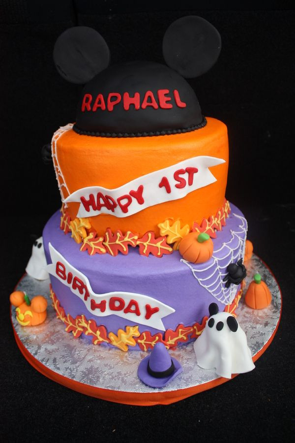 Halloween 1St Birthday Cake  Halloween birthday cakes for kids