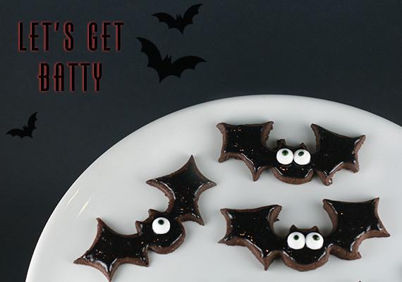 Halloween Bat Cookies  Little White Whale