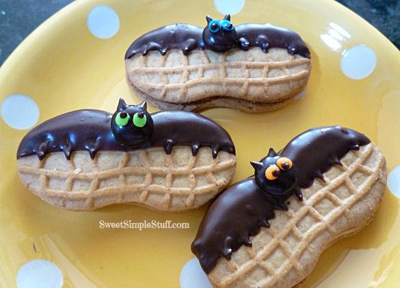 Halloween Bat Cookies  Nutter Butter Bats & Other Stuff