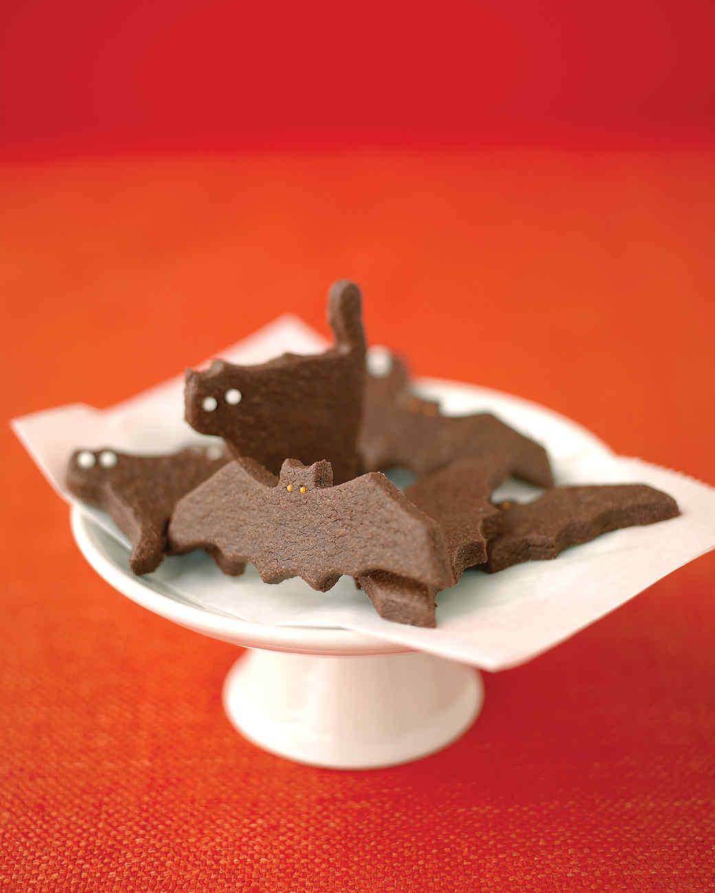 Halloween Bat Cookies  Ghostly Bat and Cat Cookies Recipe