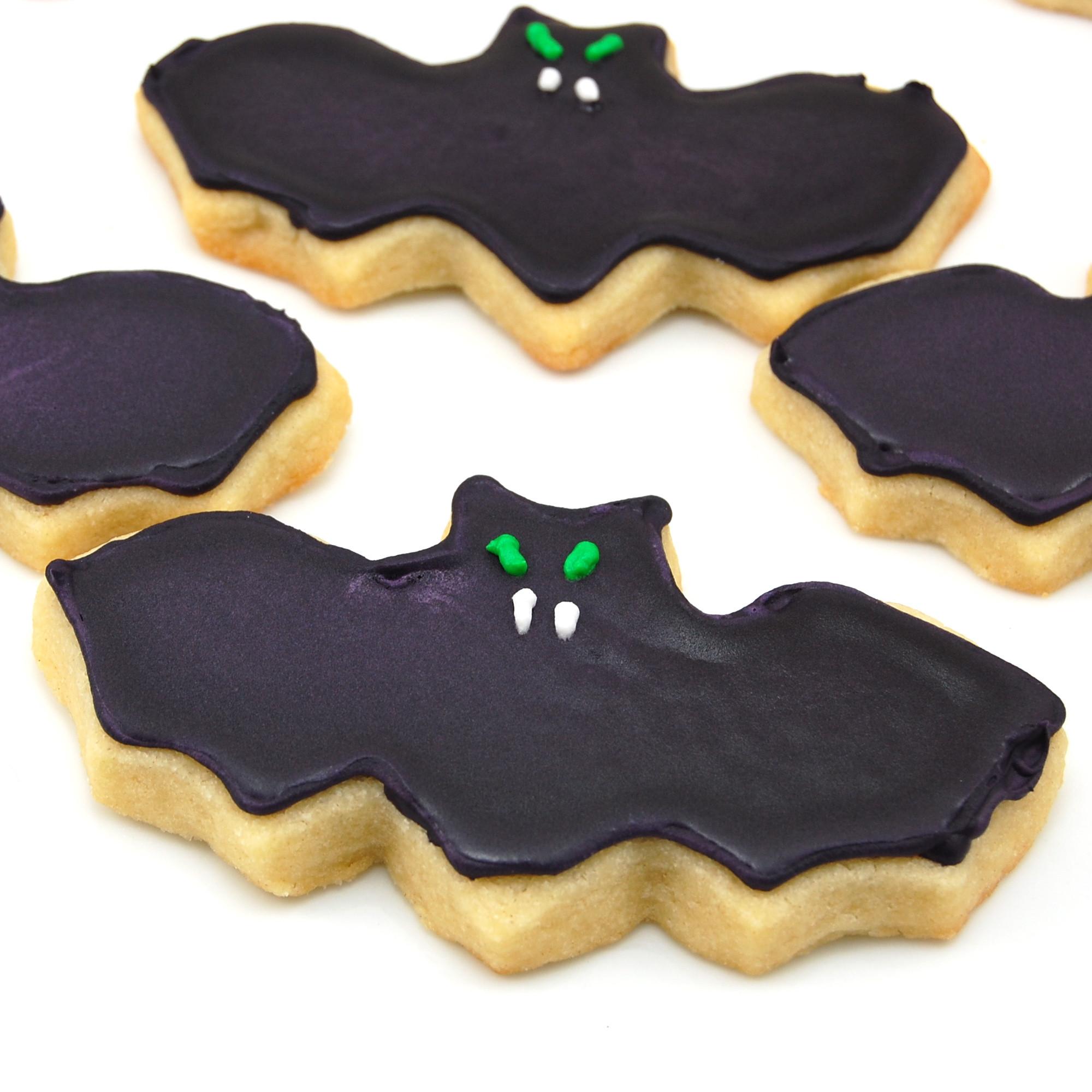 Halloween Bat Cookies  Halloween Sugar Cookies