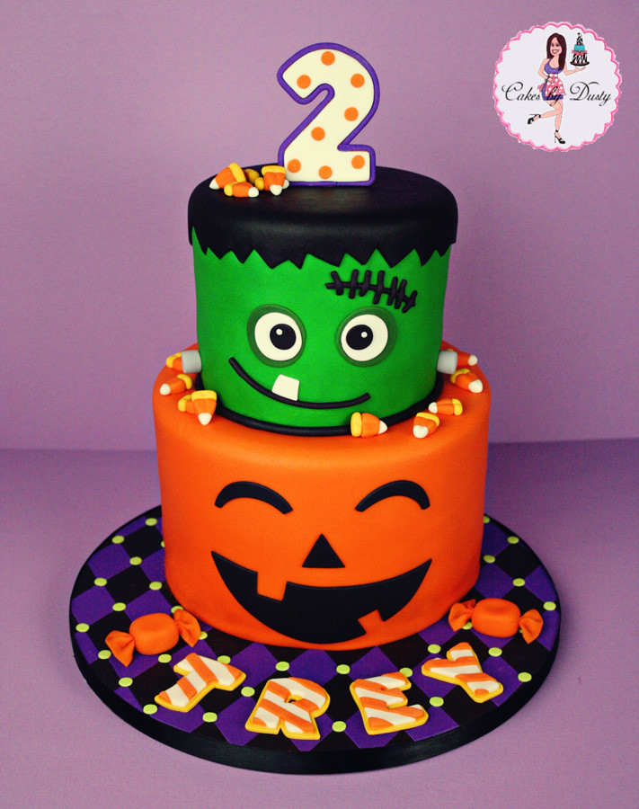 Halloween Birthday Cakes For Kids  Cakes by Dusty Trey s Halloween Birthday Cake