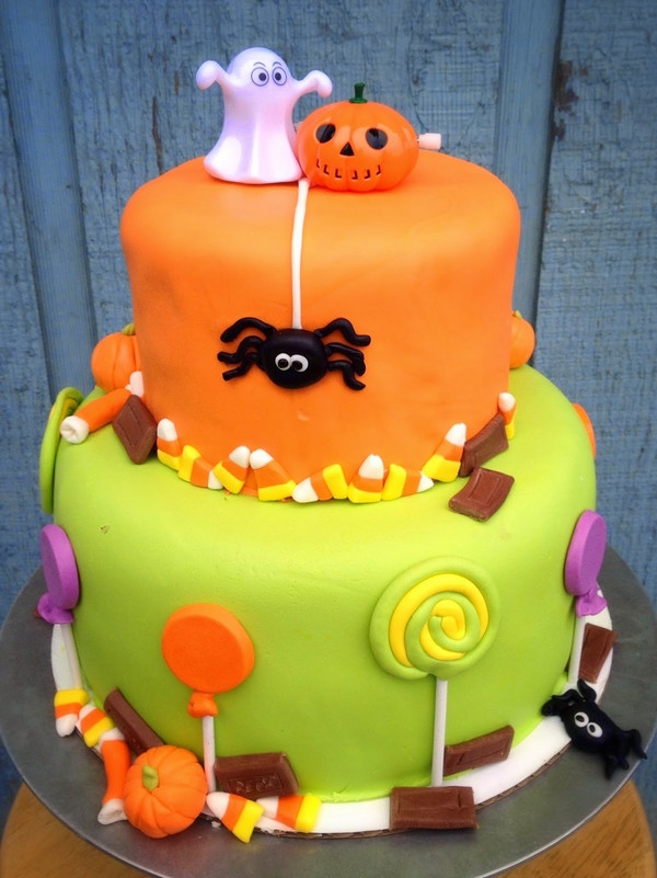 Halloween Birthday Cakes For Kids  Non scary Halloween cake decorations – fun cakes for kids