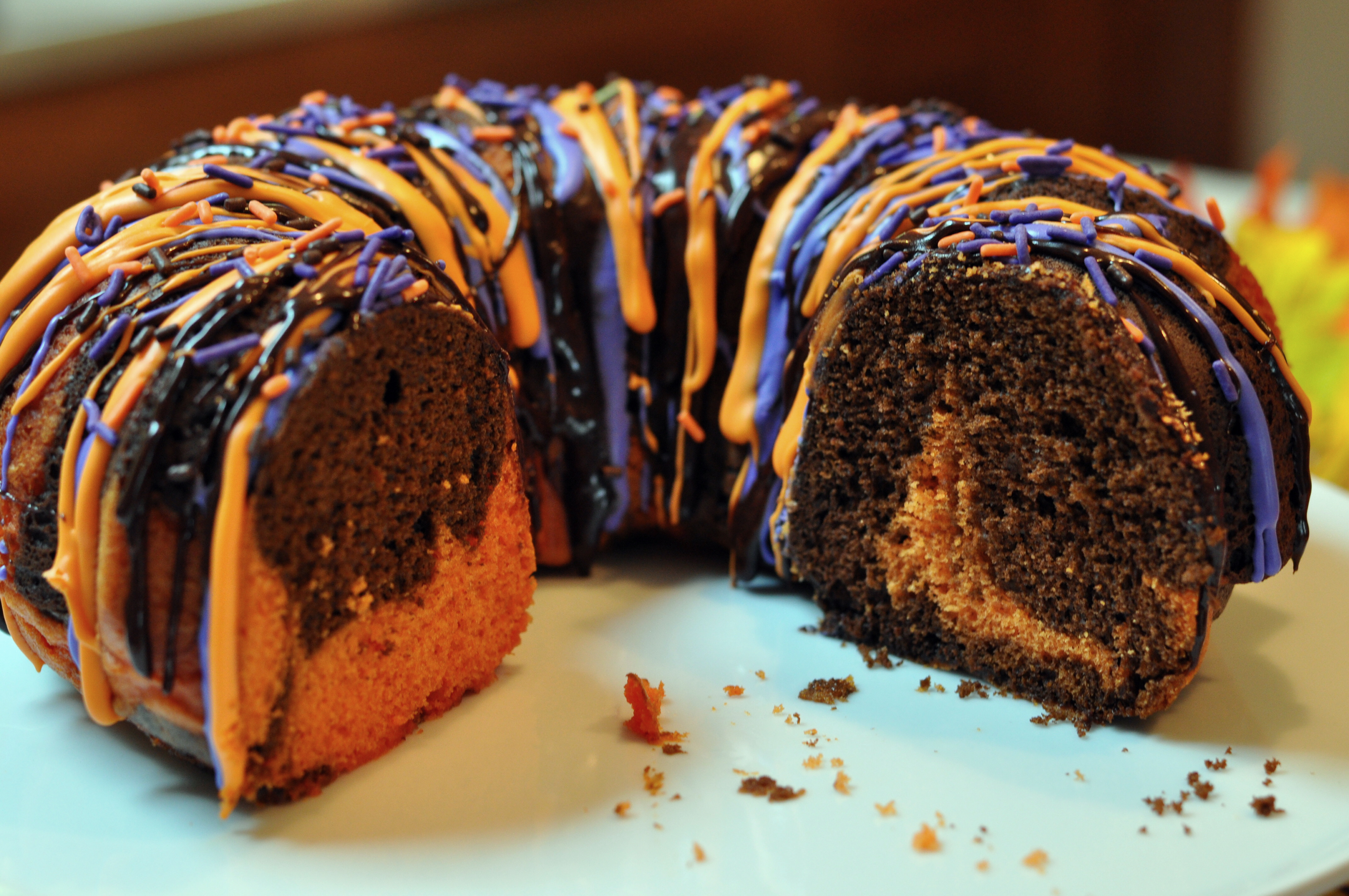 Halloween Bundt Cake  Halloween Bundt Cake Recipe Mommy s Fabulous Finds