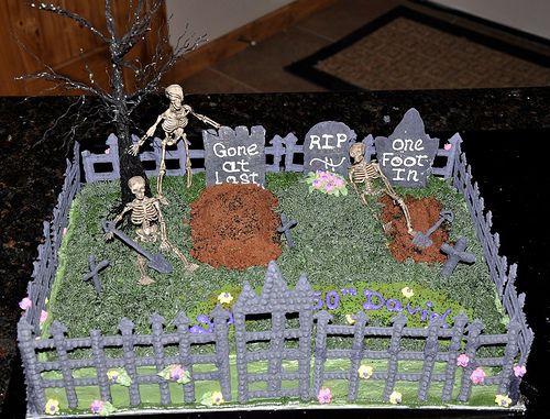 Halloween Cakes At Walmart  graveyard cake