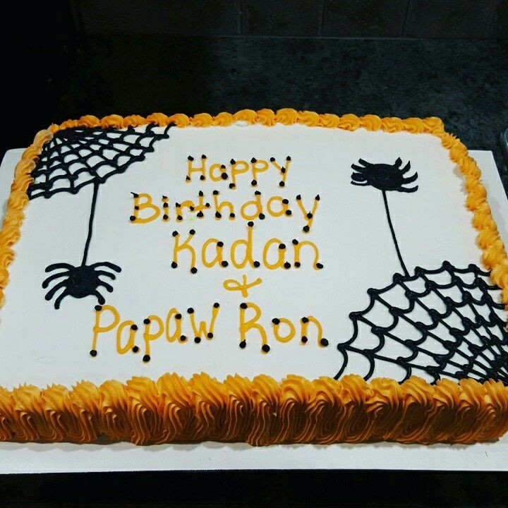 Halloween Cakes At Walmart  Halloween cake Cakes in 2019