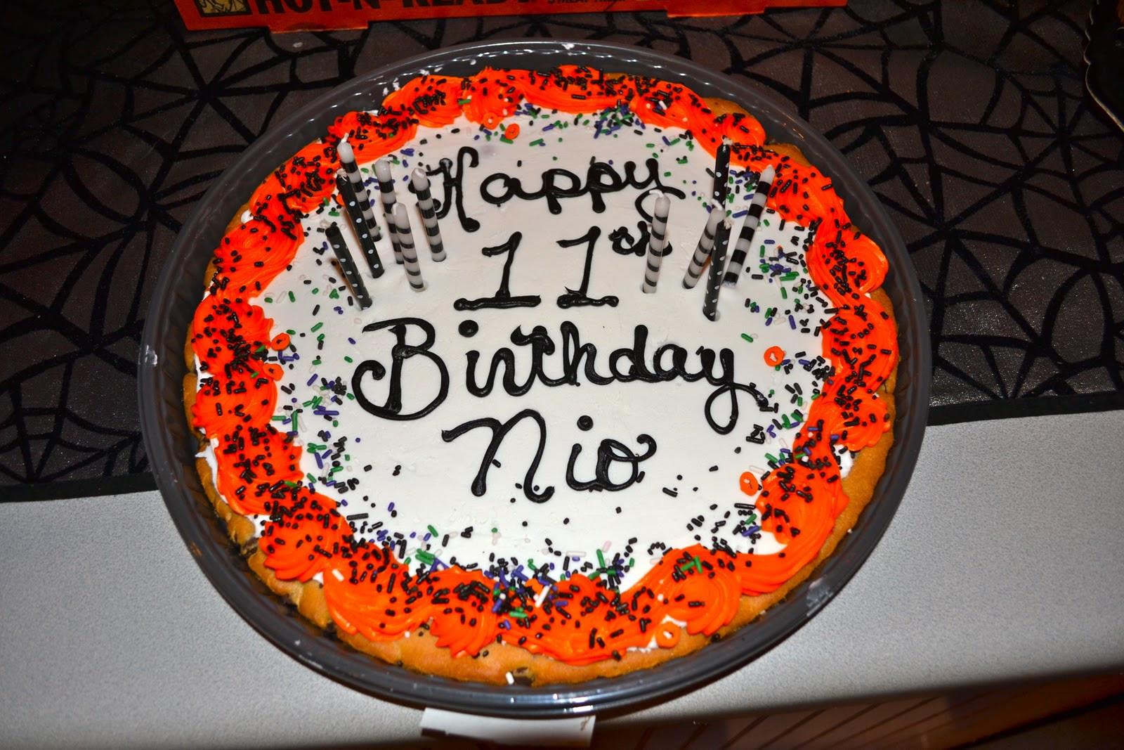 Halloween Cakes At Walmart  Life & Home at 2102 Nio s 11th Halloween Birthday Party