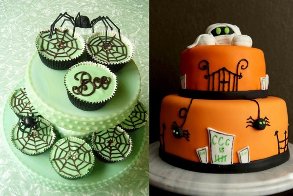 Halloween Cakes Decorations Ideas  Non scary Halloween cake decorations – fun cakes for kids